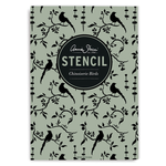Annie Sloan Stencil A3 Design Chinoiserie Birds
