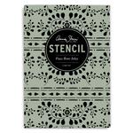 Annie Sloan Annie Sloan Stencil A3 Design Faux Bone Inlay