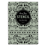 Annie Sloan Stencil A3 Design Faux Bone Inlay