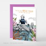 Pabuku Merman Only Fish in the Sea Card