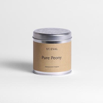 St Eval St Eval Tin Pure Peony Candle