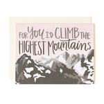 1CANOE2 Mountains Love Card