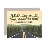 1CANOE2 Congratulations Adventure Road Card