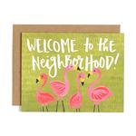 1CANOE2 Flamingo Neighborhood Card