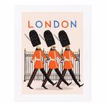 Rifle Rifle Bon Voyage London Art Print 11x14 Inches