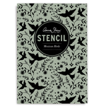 Annie Sloan Stencil A4 Design Mexican Birds