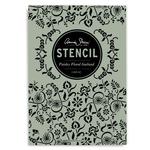 Annie Sloan Stencil A4 Design Paisley Floral Garland