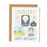 1CANOE2 Older Than You Card