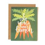 1CANOE2 Love Carrots Card