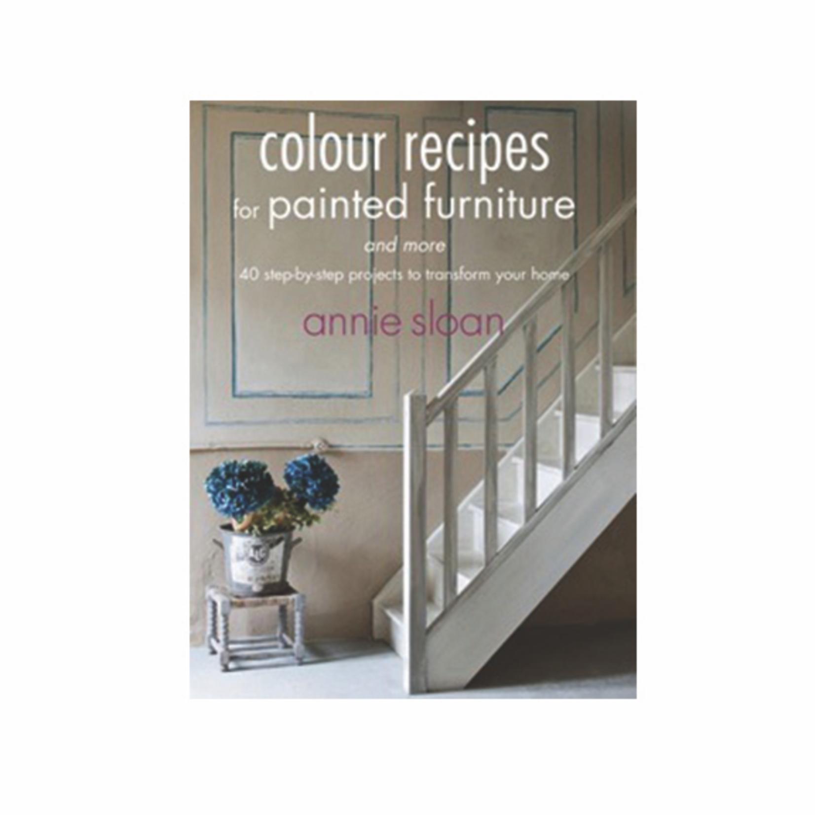 Annie Sloan Annie Sloan Colour Recipes for Painted Furniture Book