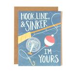 1CANOE2 Hook Line Sinker Card