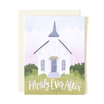 1CANOE2 Happy Ever After Wedding Chapel Card