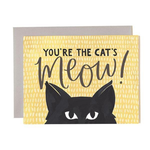 1CANOE2 Cat's Meow Card