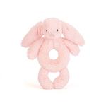 Jellycat Jellycat Bashful Pink Bunny Grabber Rattle