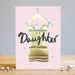 Louise Tiler Daughter Dress Birthday Card