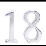 Bomb Duck Cast Aluminium Number 18 Birthday