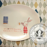 Maileg Maileg Kitchenware Bunny Honey Melamine plate