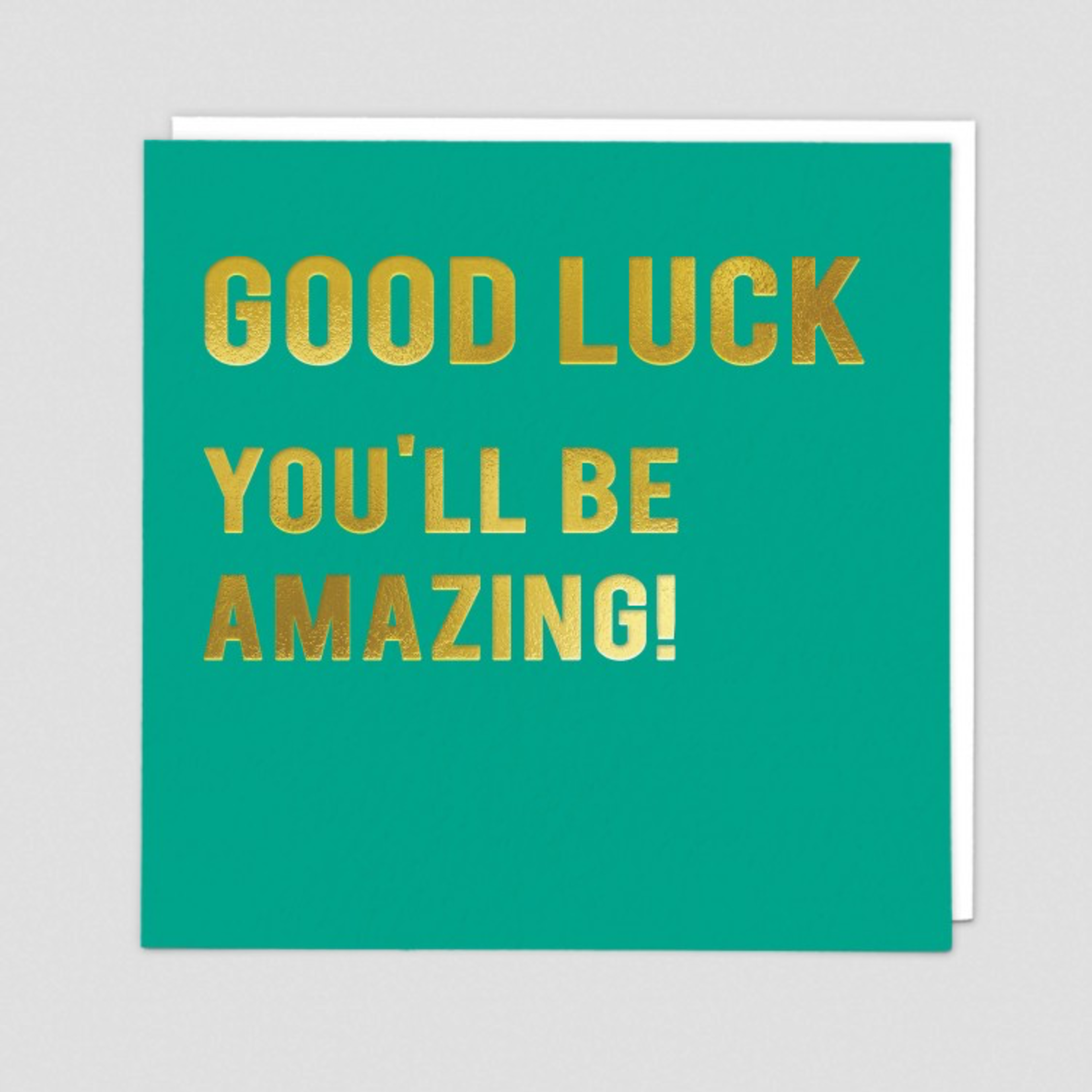 Redback Cards Amazing Good Luck Card