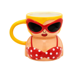 Sass and Belle Bikini Babe Shaped Mug