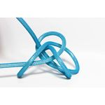 Nud Per Metre NUD Textile Cable/Flex 2 core Neon Blue
