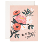 Rifle Rifle With Deepest Sympathy Card