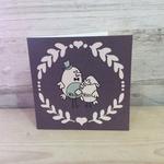Homebird Homebird Designed Birdy Vintage Mr & Mrs Card