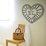 Chispum Doormat Love wall sticker 41x57.5cm
