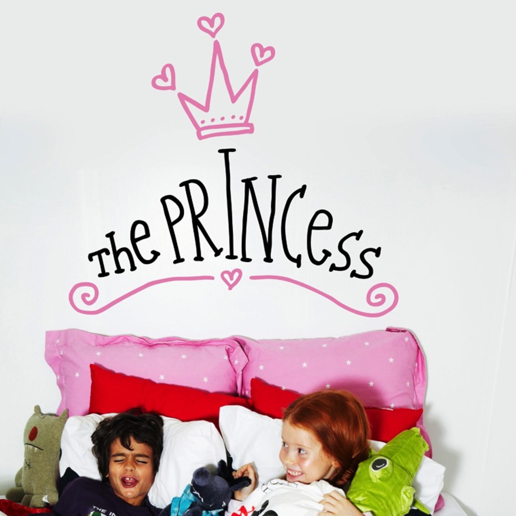 Chispum Headboard princess Wall Sticker 57.5 x 41cm