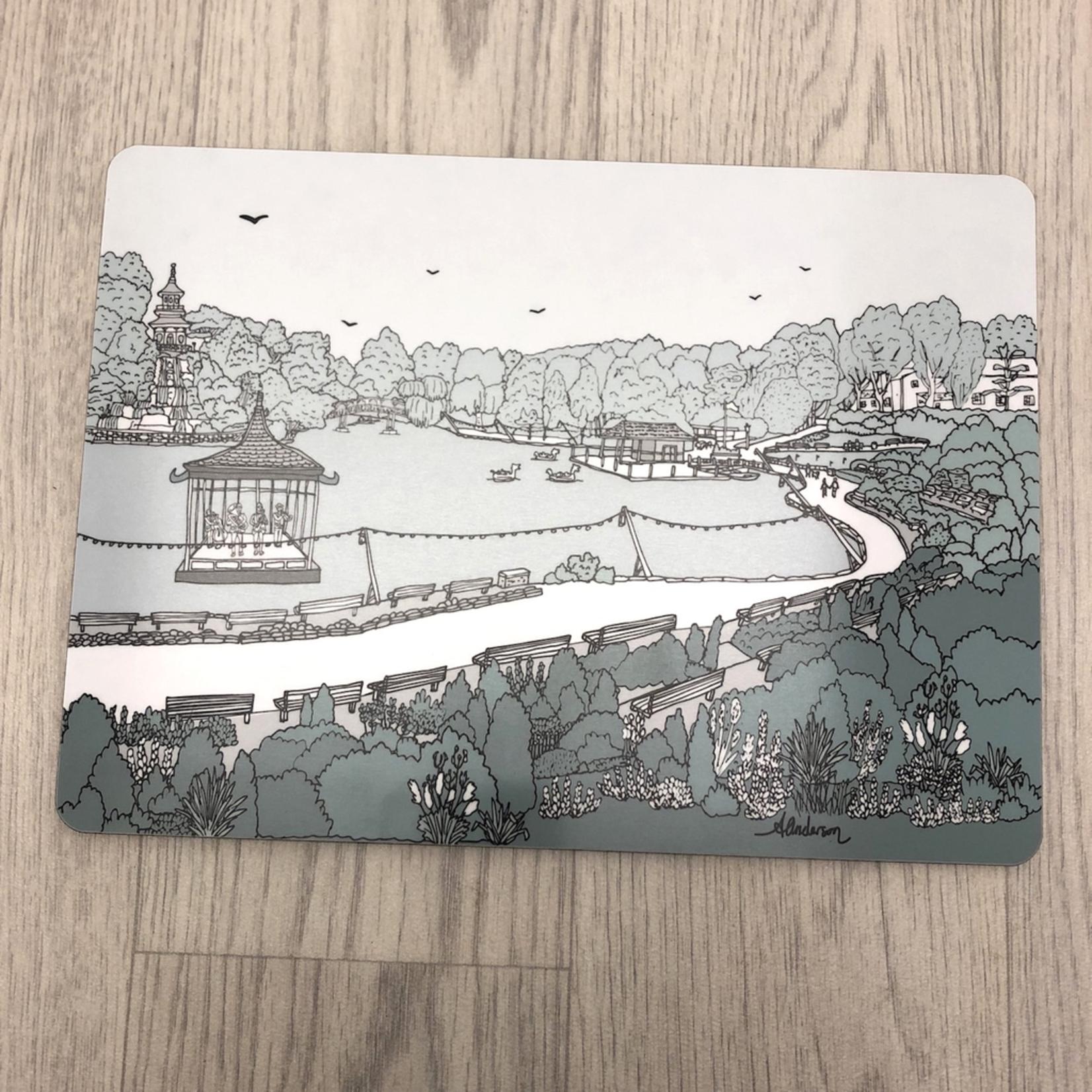 Homebird Placemat Peasholm - Alex Anderson Scarborough Single Tableware