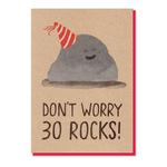Stormy Knight 30 Rocks Card