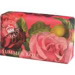 Kew Gardens Kew Gardens Summer Rose Luxury Shea Butter Soap 240g