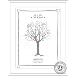 Homebird Bespoke Homebird Bespoke Family Tree Illustration with leaves - Tell us your colour choice and style of illustration