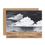 1CANOE2 Storm Sympathy Card