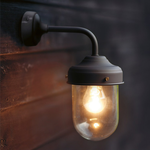 GT Wall Barn light In Coffee Indoor and Outdoor