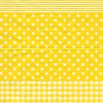 Decopatch Decoupage PAPER 545 Yellow pattern print