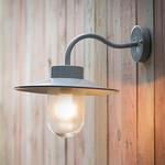 GT St Ives Swan Neck Light in flint- Indoor and Outdoor