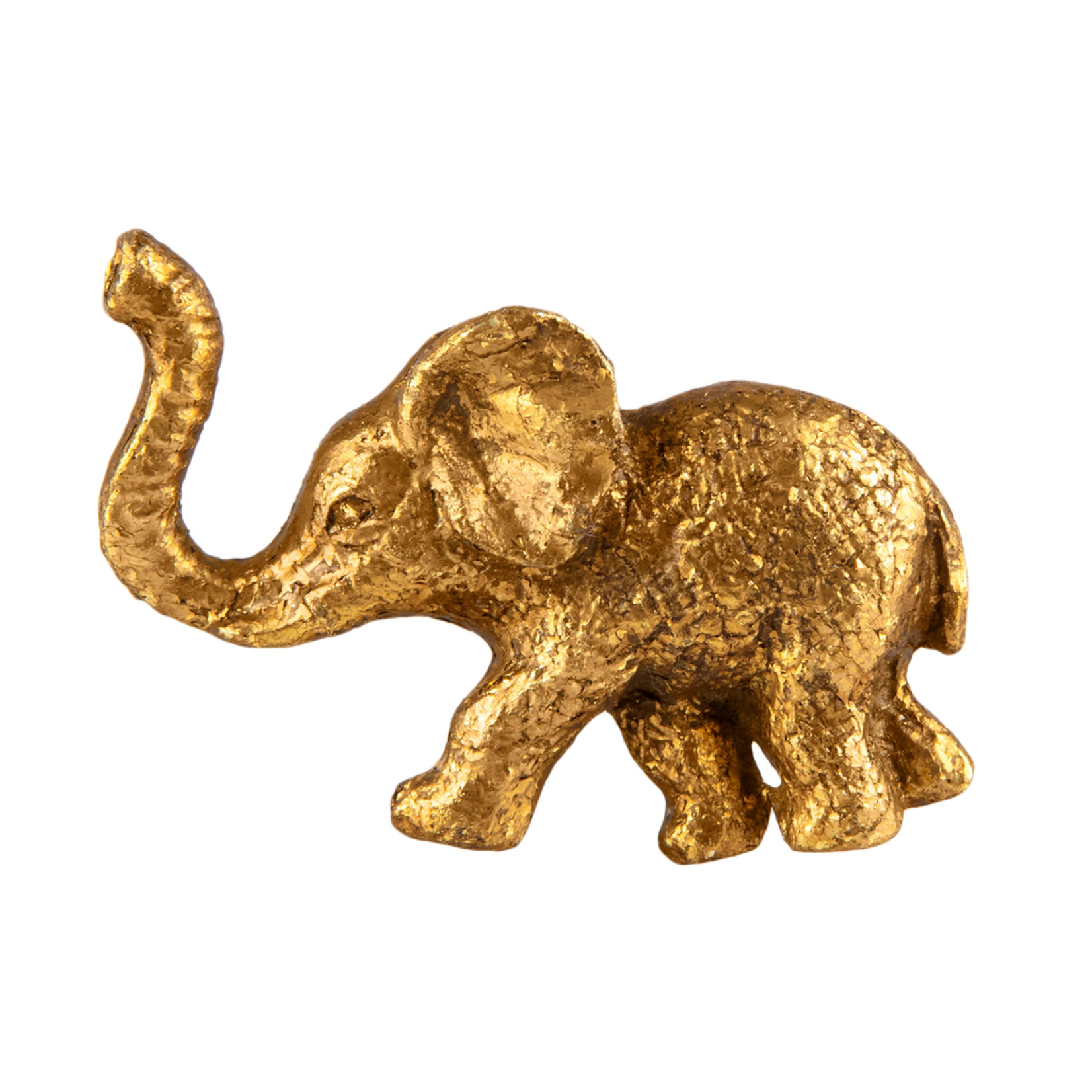 Sass and Belle Gold Elephant Drawer Knob