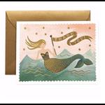 Rifle Rifle Mermaid Thank You Card