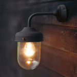 GT Wall Barn Light in Carbon - Steel - Indoor and Outdoor