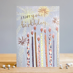 Louise Tiler Birthday Candles Card