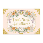 My Design co Love's Great Adventure Moving Musical Box Card