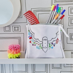 Eat Sleep Doodle Doodle Deisgner Bag (Colour In)