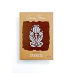 Annie Sloan Annie Sloan Stencil Poppy Pod A4
