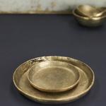 Nkuku Jahi Gold Plate Small