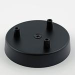 Plumen Multi-Ceiling Rose - 3 holes - Black