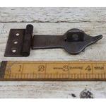 IRON RANGE Hasp & Staple Spearhead Antique Iron