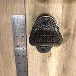 IRON RANGE Bottle Opener Wall Fixing Cast Ant Iron Stella Artois