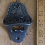 IRON RANGE Bottle Opener Wall Mounted 'FENTIMANS' Cast Iron