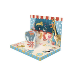 My Design co Circus Adventure Moving Musical Box Card