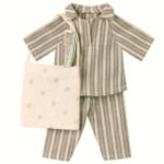 Maileg Maileg Clothes - Sleep-over set, Medium mouse boy